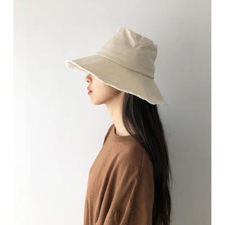 TODAYFUL - TODAYFUL  ☆ Paraffin Bucket Hat エクリュ