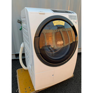 日立 - HITACHI ビッグドラムスリム センサー洗浄2017年式 10kg /6kg