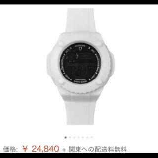 WIZE&OPE ワイズアンドオープ ホワイト GUMMY WHITE(腕時計(デジタル))