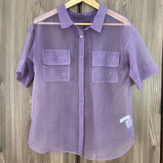 Ameri VINTAGE - ameri vintage  シアーシャツ♡