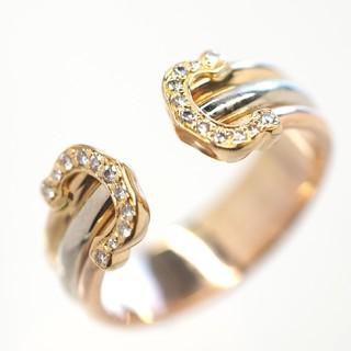 カルティエ(Cartier)の質流れ品TV!Cartier カルティエ C2ダイヤモンドリング750 8.5号(リング(指輪))