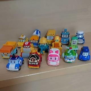 ロボカーポリー ダイキャスト 15台(ミニカー)