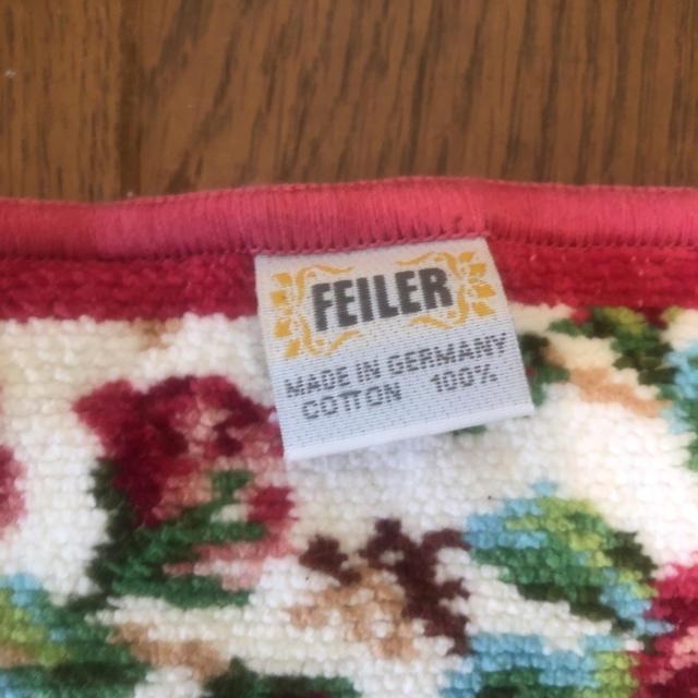 FEILER(フェイラー)の即決 FEILER フェイラー タオルハンカチ 2枚セット レディースのファッション小物(ハンカチ)の商品写真