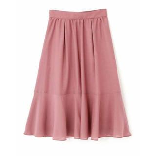 PROPORTION BODY DRESSING - ♡シアーカラーティアードスカート♡