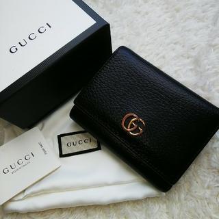 Gucci - 【美品】 GUCCI グッチ 3つ折り財布
