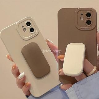 スヌーピー(SNOOPY)の大人気◎新品◆スヌーピー ポップソケットiPhoneケース チャーリーブラウン(iPhoneケース)