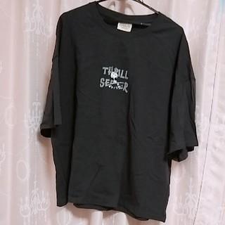 スヌーピー(SNOOPY)のスリルスケボースヌーピーTシャツ🌈大きいサイズ(Tシャツ(半袖/袖なし))