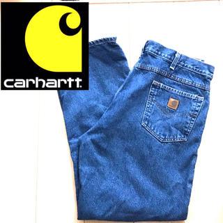 カーハート(carhartt)の90s 古着カーハートcar heartデニムジーンズ(デニム/ジーンズ)