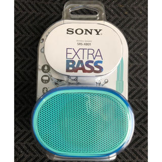 SONY - SRS-XB01 SONY ワイヤレススピーカー 防水 Bluetooth