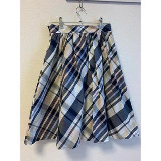 PROPORTION BODY DRESSING - マドラスチェックスカート