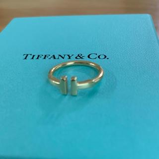 Tiffany & Co. - ティファニー Tワイヤーリング イエローゴールド 7号