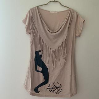スコットクラブ(SCOT CLUB)のスコットクラブ*ベージュ ロングTシャツ(Tシャツ(半袖/袖なし))