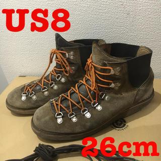ダナー(Danner)のDANNER ダナー VERTIGO ヴァーティゴ スウェード【US8】26cm(ブーツ)