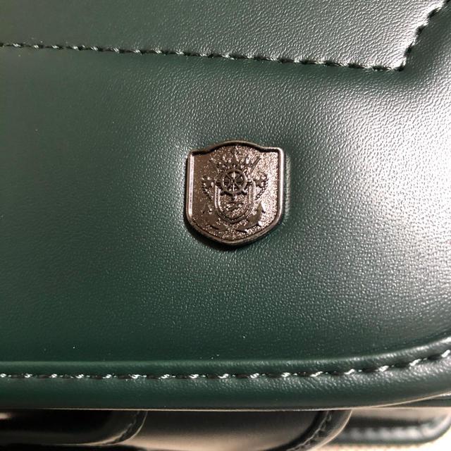 お値下げ 新品 ランドセル 深緑 キッズ/ベビー/マタニティのこども用バッグ(ランドセル)の商品写真