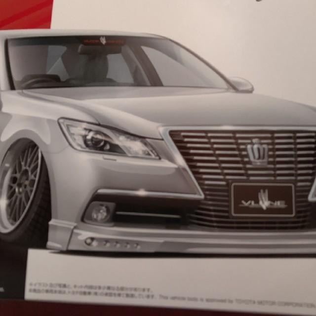 AOSHIMA(アオシマ)のアオシマ No.14 トヨタ ブレーン X10 AWs210         エンタメ/ホビーのおもちゃ/ぬいぐるみ(模型/プラモデル)の商品写真