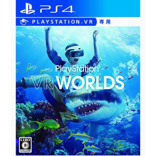 プレイステーションヴィーアール(PlayStation VR)の[ゲーム]PlayStation VR WORLDS(VR専用) - PS4(家庭用ゲームソフト)