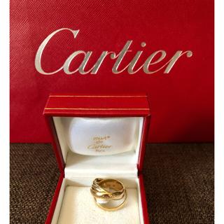 カルティエ(Cartier)のCartier カルティエ トリニティ リング K18(リング(指輪))