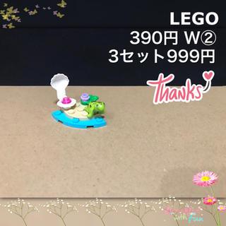 Lego - LEGO レゴフレンズ W② 動物 カメ 貝殻 お花