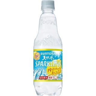 サントリー(サントリー)の[炭酸水]サントリー 天然水 スパークリングレモン 500ml×24本(その他)
