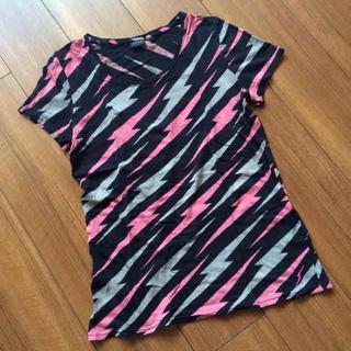 マウジー(moussy)のマウジー イナズマ柄 Tシャツ(Tシャツ(半袖/袖なし))
