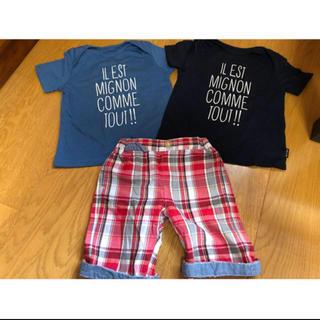 コムサイズム(COMME CA ISM)のセットコーデ(Tシャツ/カットソー)