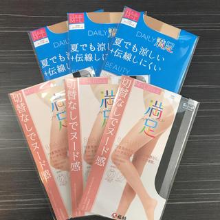 フクスケ(fukuske)の【新品】M〜L満足ストッキング 6足セット(タイツ/ストッキング)