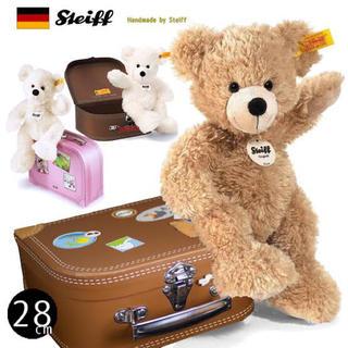 シュタイフ steiff ドイツ スーツケース テディベア ぬいぐるみ