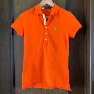 ラルフローレン(Ralph Lauren)のラルフローレン ポロシャツ オレンジ レディース(ポロシャツ)