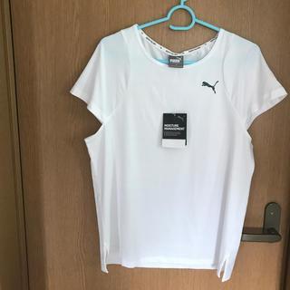 プーマ(PUMA)の値下げ‼️PUMA☆スポーツTシャツ/ヨガなどにも//M(Tシャツ(半袖/袖なし))
