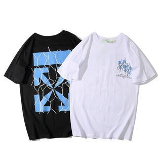 OFF-WHITE - OFF WHITE オフホワイト 半袖Tシャツ710