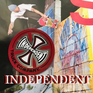 インディペンデント(INDEPENDENT)のINDEPENDENTインディー US限定 sk8 ミラーアイコン ステッカー(スケートボード)