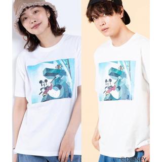 ウィゴー(WEGO)の新品未使用☆WEGO ディズニープリントTシャツ メンズM(Tシャツ/カットソー(半袖/袖なし))