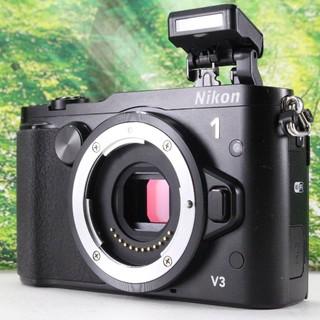 Nikon - Nikon ミラーレス一眼Nikon 1 V3 ボディ ブラック
