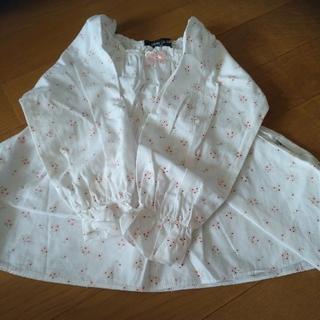 コムサイズム(COMME CA ISM)のシャツ コムサ サイズ 90 花柄(ブラウス)