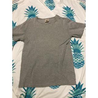 アヴィレックス(AVIREX)のアビレックス AVIREX シンプル グレー Tシャツ(Tシャツ/カットソー(半袖/袖なし))