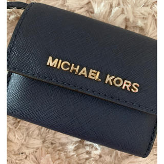 Michael Kors - 美品!本物!キーケース ミニ財布 マイケルコース
