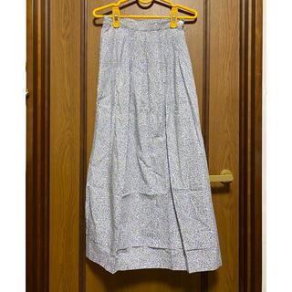 ローラアシュレイ(LAURA ASHLEY)のローラアシュレイ ロングタックスカート(ロングスカート)
