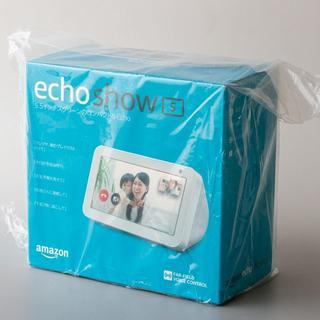エコー(ECHO)のamazon echo show 5(新品未開封)サンドストーン(スピーカー)