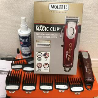ウォール(WALL)のwahl  cordless magic clip(メンズシェーバー)