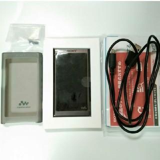 ウォークマン(WALKMAN)のNW-A55 16GB グレイッシュブラック ウォークマン SONY(ポータブルプレーヤー)