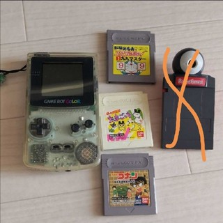 ゲームボーイ(ゲームボーイ)のゲームボーイカラー カセット付(携帯用ゲーム機本体)