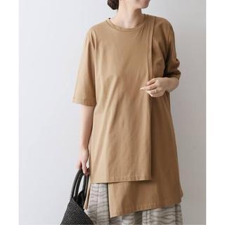 デミルクスビームス(Demi-Luxe BEAMS)の20SS ATON SUVIN 60/2 /レイヤード Tシャツ(Tシャツ/カットソー(半袖/袖なし))