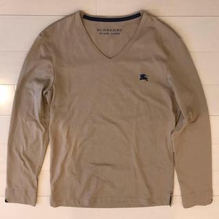 バーバリーブラックレーベル(BURBERRY BLACK LABEL)のバーバリー ブラックレーベル 長袖 シャツ(Tシャツ/カットソー(七分/長袖))
