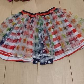 ジャム(JAM)のチュール付スカート110(スカート)