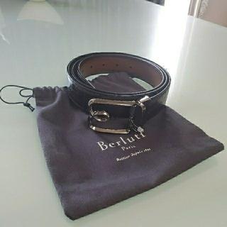 ベルルッティ(Berluti)のベルルッティ メンズ 革 ベルト 専用保存袋付き【Berluti】(ベルト)
