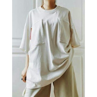 ジルサンダー(Jil Sander)の稀少 JIL Sander Tシャツ フリンジ(Tシャツ/カットソー(半袖/袖なし))