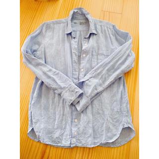 ムジルシリョウヒン(MUJI (無印良品))の無印良品 リネンシャツ Lサイズ(シャツ/ブラウス(長袖/七分))