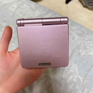 ゲームボーイアドバンス(ゲームボーイアドバンス)のりょう様専用 ゲームボーイアドバンスSP 本体 ピンク(携帯用ゲーム機本体)
