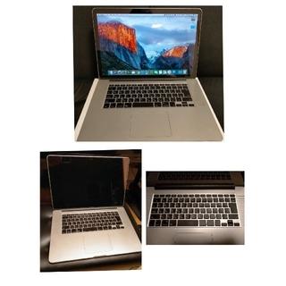 マック(Mac (Apple))のAPPLE MacBook Pro 15.4インチ 2012 初代Retina(ノートPC)