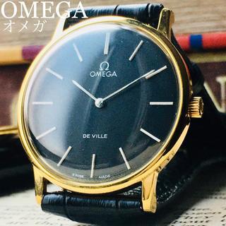オメガ(OMEGA)のOH済★新品仕上げ★オメガ デビル アンティーク 腕時計 メンズ 1970年代(腕時計(アナログ))